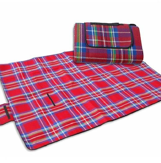 "Red 80""x 60"" 200CMx150CM Waterproof Camping Mat Picnic Blanket baby climbling mattress"