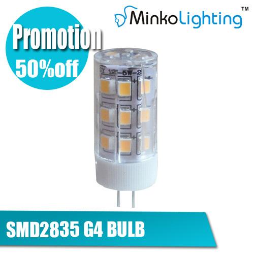 1G4 12V LED Bulb 2W 3W 5W SMD2835 Chips ceramics Replace Crystal Light Spotlight Warm Cold White - MINKO Lighting store