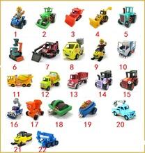 22pcs+ Free Shipping Bob The Builder metal Construction Vehicles Models .(Mix order)(Hong Kong)