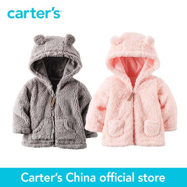 Картера 1 шт. детские дети дети Шерпа Капюшоном Куртки 127G238, продавец картера Китай официальный магазин