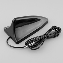 Black Shark Fin Car Radio Antenna FM Universal ABS Roof Truck RV Vehicles Aerial - Au-Motor Master store