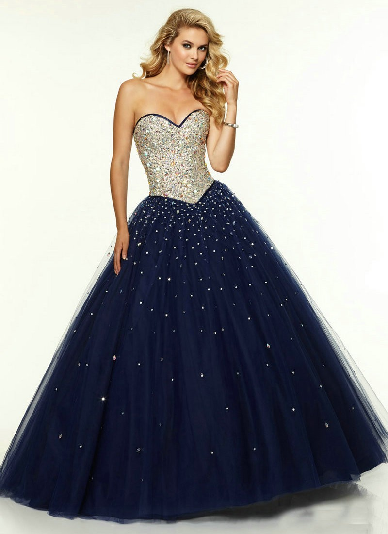 Collection Long Poofy Prom Dresses Pictures - Reikian