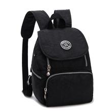 Fashion Women Water Resistant Nylon Backpack Mini Hiking Student School Bags Kipled Casual Travel Sport Zipper