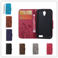 Luxury Embossed pattern Pattern Phone Case For Lenovo A319 Leather Wallet Flip Cases Card Holder Cover
