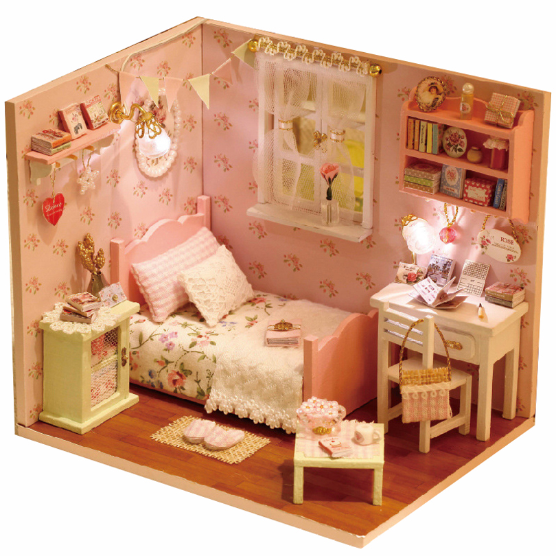 dollhouse bedroom doll house 3