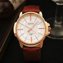 Yazole marque de luxe célèbre hommes montres affaires montre pour hommes homme horloge de mode montre à Quartz Relogio Masculino reloj hombre 2019(China)