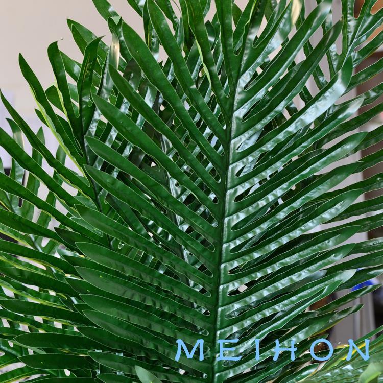 Simulation of leaf-tailed Palm Palm leaf fantail of fake flowers decoration flower decoration material factory wholesale(China (Mainland))