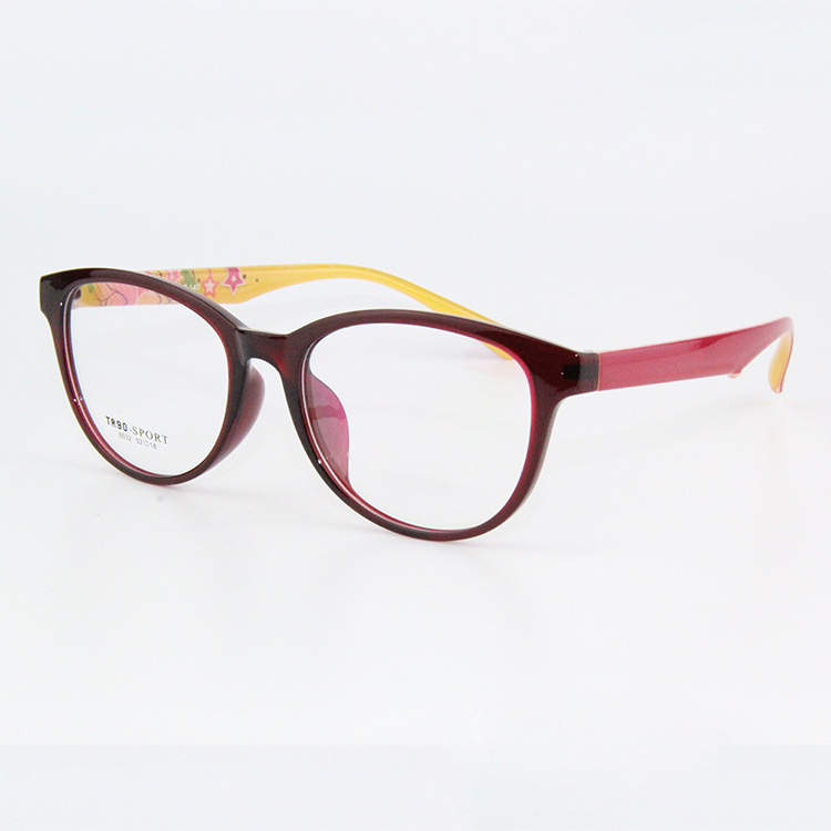 Large Frame Ladies Glasses : Large Frame Eyeglasses Fashion Flexible Gafas Women TR 90 ...