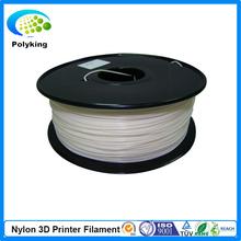 white color 3d printer filaments PA(Nylon) 1.75mm/3mm 1kg/2.2lb Plastics Resin Consumables For MakerBot RepRap UP Mendel