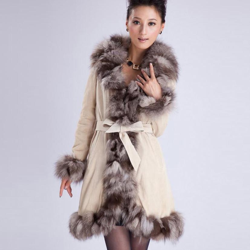 Leather Jacket With Fox Fur Trim | Homewood Mountain Ski Resort