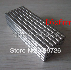 10Strong Round Magnets D.6x6mm N35 Rare Earth Neodymium Magnet Great Teaching Aid - Bryan's store