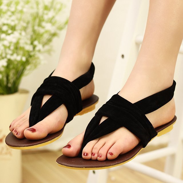 Women's Sandals Summer Beach Flip Flops Lady Slippers Women Diamand Stylish Flat Shoes - Hard-working people store