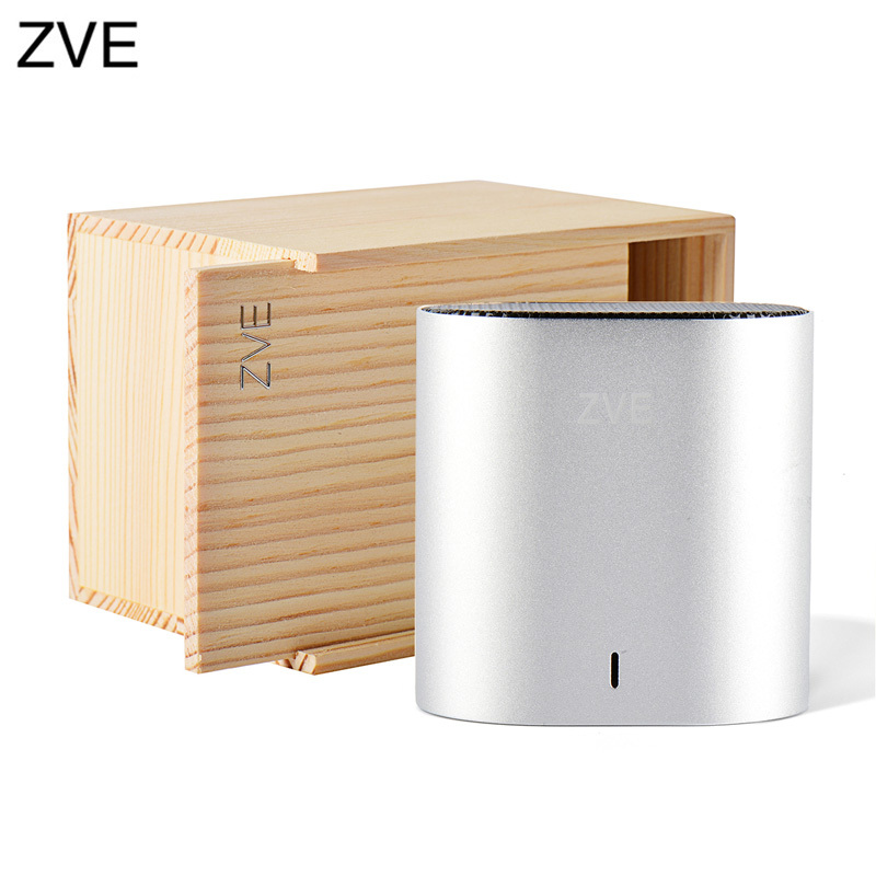 ZVE Metal V 3.0 wireless bluetooth speaker gray loudspeakers with Hook Free Shipping(China (Mainland))