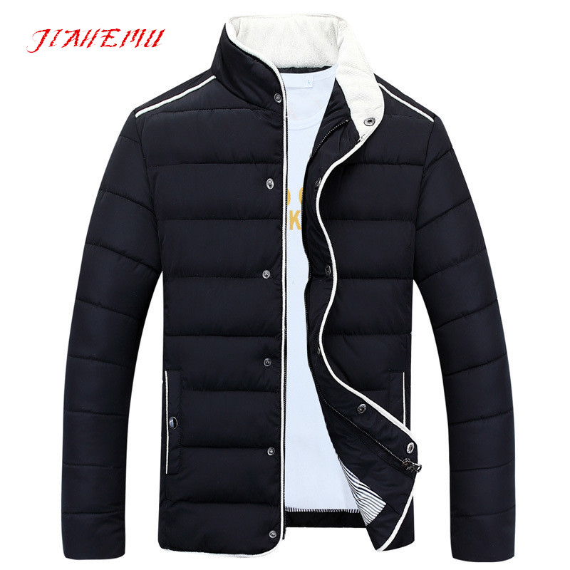 Men s Winter Clothes 2015 New Arrivals Casual Solid Stylish Coat Regular High Quality Quilted Long