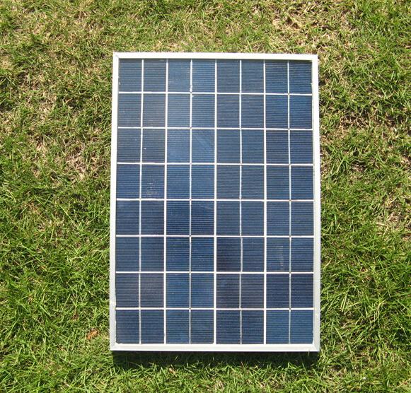 Aluminum W Panels : Aluminum frame solar panels w polycrystalline