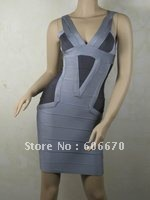 Free Shipping Women's Sexy Bandage Dress ,Celebrity Girls Tube Dresses ,Cocktail Party Evening Dresses Wholesales H0419