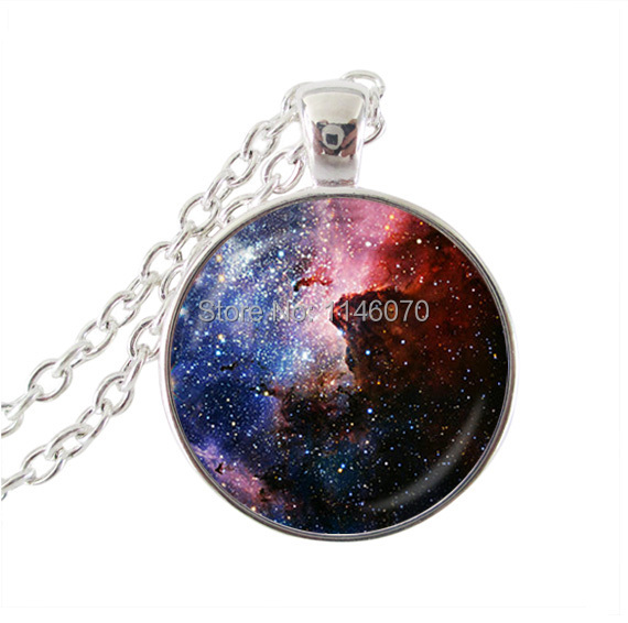 New 2015 Hot Sale Carina Nebula Necklace Galaxy Jewelry Universe Pendant Jewelry party qcessories women men jewellery Wholesale(China (Mainland))