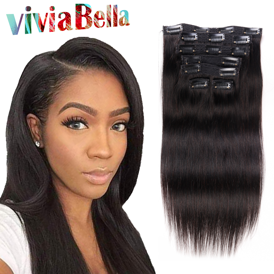 Human Hair Clip Ins - Remy Indian Hair