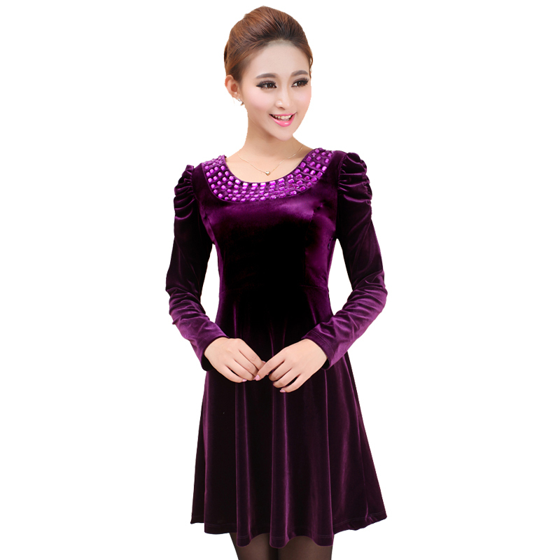 Popular Red Velvet Dress-Buy Cheap Red Velvet Dress lots from China Red Velvet Dress suppliers ...