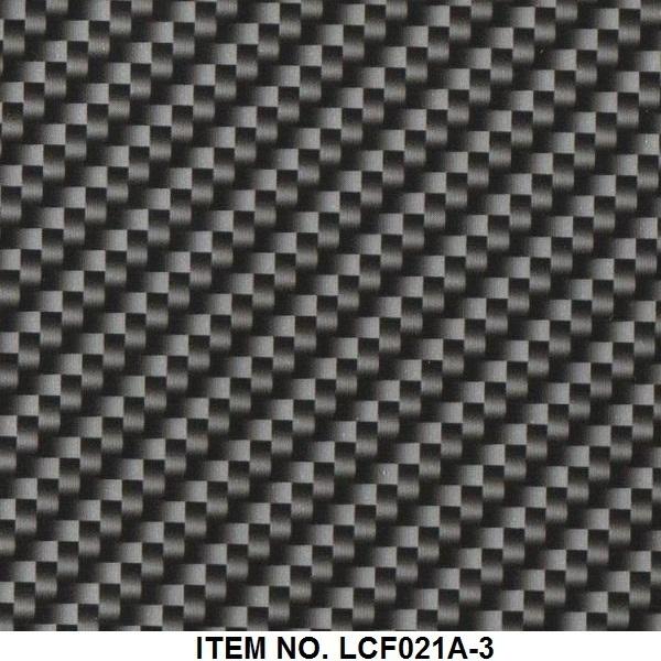 Carbon fiber PVA water transfer printing film Item NO.LCF021A-3