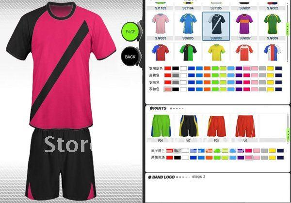 Free shipping!Customize sports jersey,cotton t-shirt.(China (Mainland))