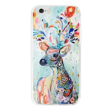 i7/Note7 Fashion Colorful Dew Painting Case iPhone 7 6 6S PlusFor 5 5S SE Galaxy Note 4 Soft TPU Back Cover - Jewelcome store