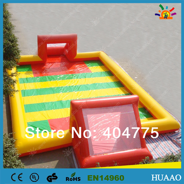 2014 hot sale inflatable soap football pitch with free CE/UL blower and repair kit and free shipping by air express to door<br>