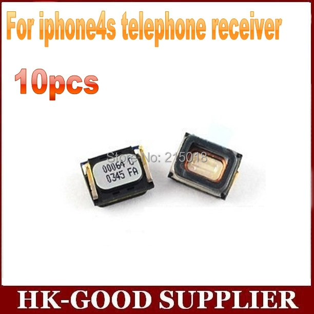 10pcs ear receiver For iphone4s telephone receiver with speaker freeshipping