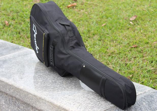 """1pc Hot sale 41"""" classical Acoustic Guitar Gig Bag Case with Dual Padded Strap guitar accessories musical parts free shipping(China (Mainland))"""