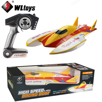 EMS/DHL shipping WLtoys WL913 2.4G Remote Control Brushless Motor Water-Cooling System High Speed 50km/h RC Racing Boat