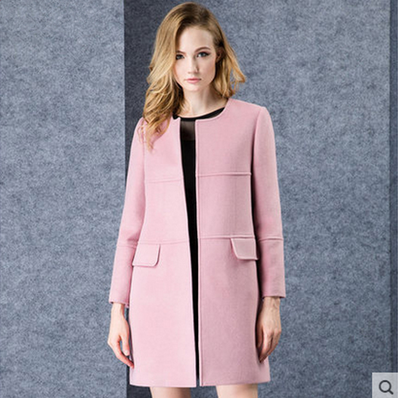 Long Pink Jacket - My Jacket