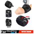 360 Degrees Wrist Mount Band Strap And Screw for Gopro Hero 2 3 3 4 Xiaomi
