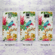 Parrot Bird Ornithology Curtain Crazy pop hard White Skin Case Cover for Samsung Galaxy note 2 3 4 5 s4mini s6edge(China (Mainland))