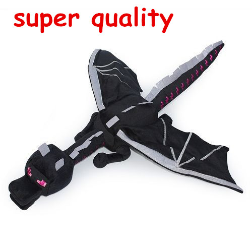 Hot Sale 60cm Minecraft Ender Dragon Plush Doll Soft Black Minecraft Enderdragon PP Cotton Minecraft Dragon Kids Christmas Gift<br><br>Aliexpress