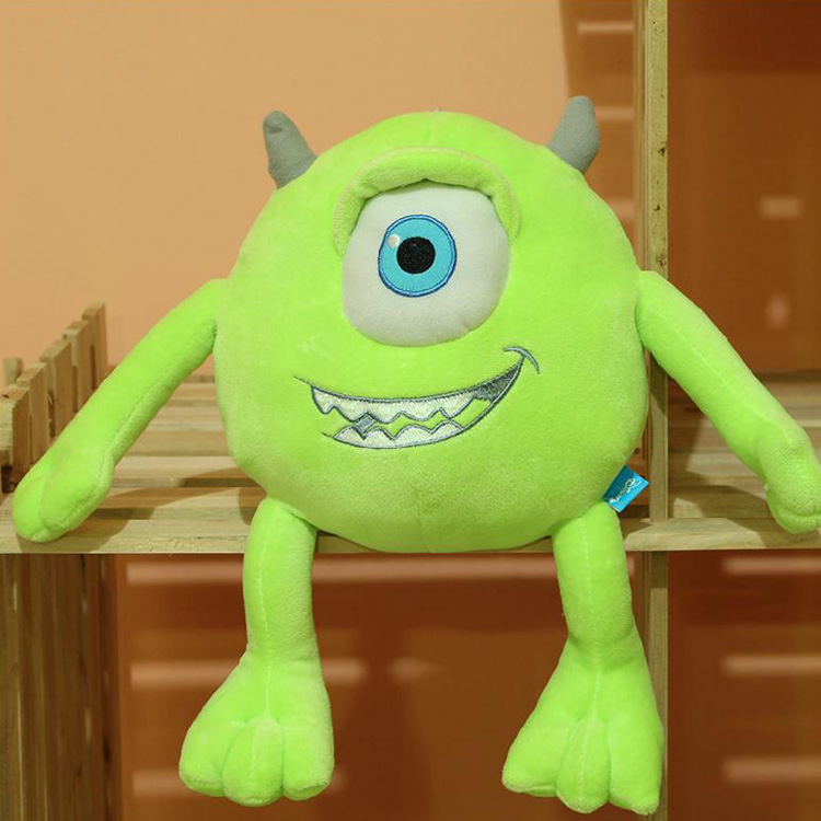 7.8 Inches Mike Wazowski Monsters University baby soft doll plush classic toys children birthday gift - Truman Hua's store