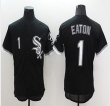 hot Mens Flexbase #8 Bo Jackson #1 Adam Eaton blank Jersey Stitched Gray black Throwback Jerseys(China (Mainland))