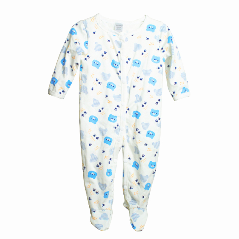 Cotton Newborn Baby Girl Rompers Boy Jumpsuits Kids Clothes Body Suit Cartoon Long Sleeve Clothes One Pieces Baby Rompers Infant(China (Mainland))