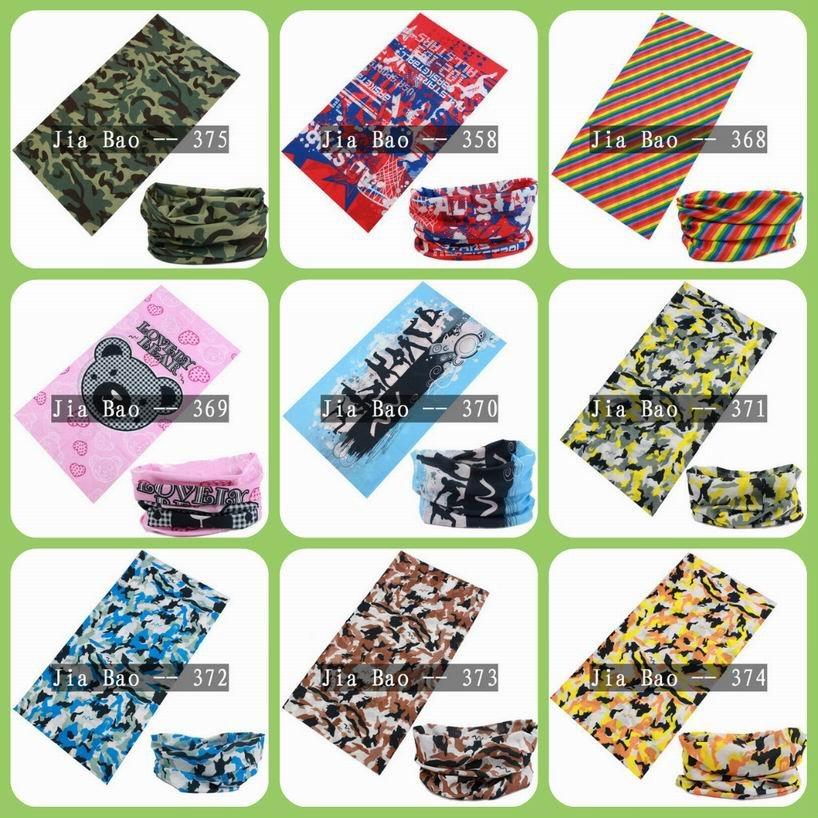 multifunctional headband,Headwear,Multifunctional scarf,seamless scarf--Stock designs can mix designs(China (Mainland))