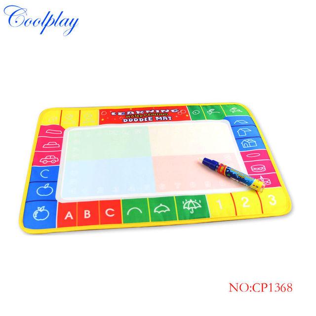 Coolplay CP1368 45X29cm Water Doodle Mat with 1 Magic Pen Drawing Toys Mat /Aquadoodle Drawing Mat/