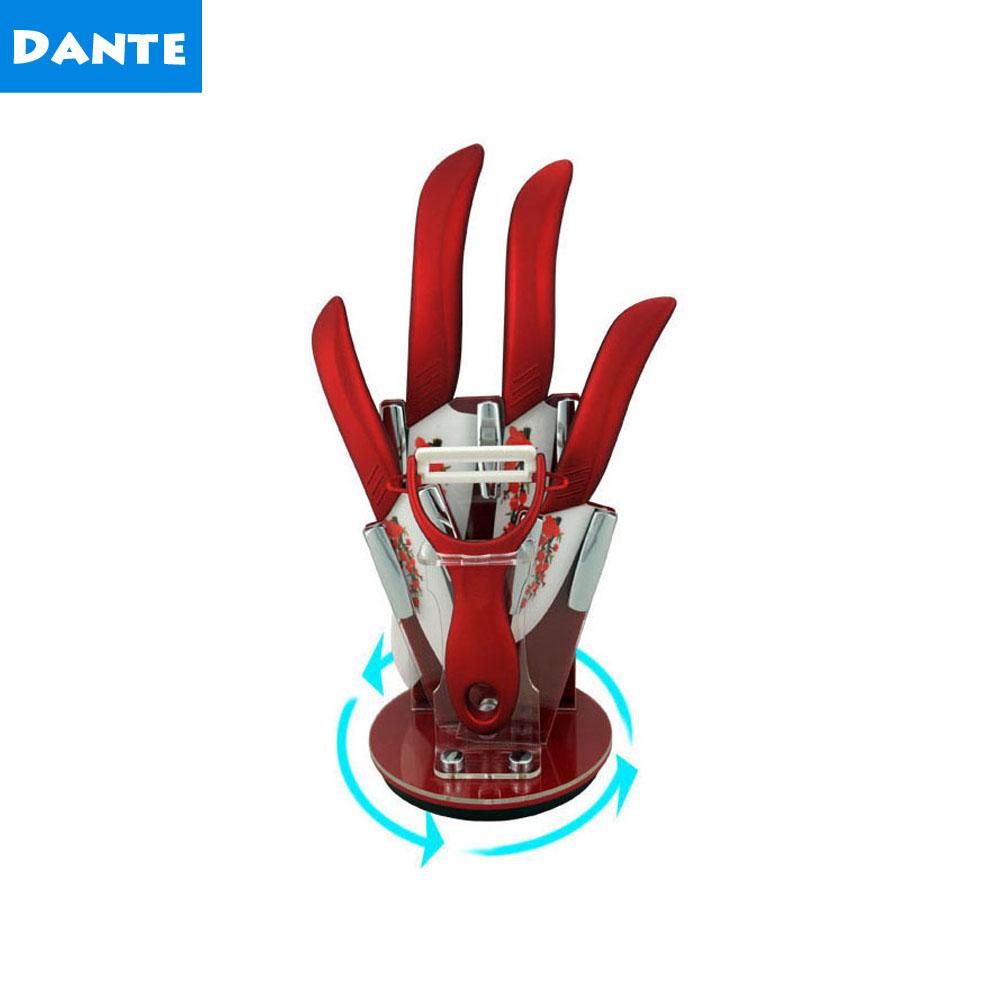 dante brand ceramic knife set top quality kitchen knives