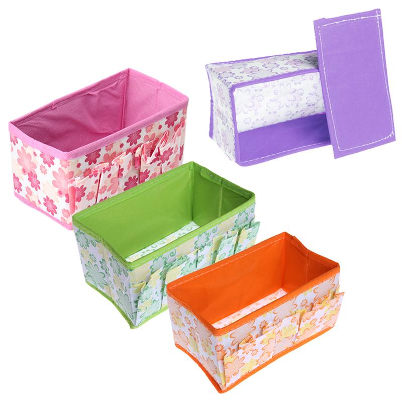 1pcs Fashion Cheap Brand New Folding Multifunction Make Up Cosmetic Storage Box Container Bag Case Free Shipping MTY3(China (Mainland))