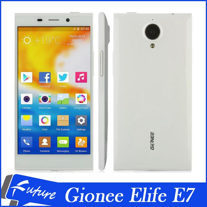 "Original Gionee Elife E7 3GB RAM 32GB ROM Android Mobile Phones 5.5"" FHD Gorilla Screen Quad Core 16.0MP Camera Free Shipping(China (Mainland))"