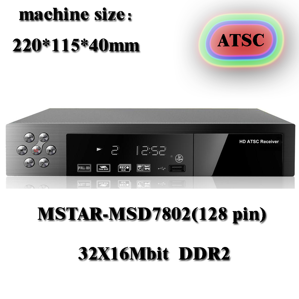 2014 new digital atsc tv tuner digital HD TV receiver for Canada Mexico and the United States with air channels(China (Mainland))