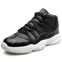 Buy 2017 running Shoes authentic Jordan mens retro shoes 11 leather sneakers white black breathable high sports walking trainers for $30.99 in AliExpress store