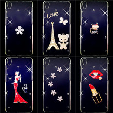 For Huawei U9200 Case Cover,Crystal Bow Bling Bling Tower 3D Diamond Hard PC Cover For Huawei Ascend P1 U9200(China (Mainland))