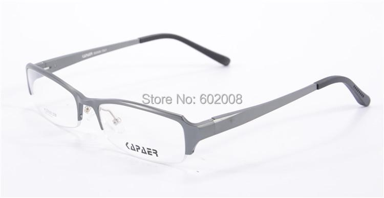 fashion womens glasses metal half frame Wholesale metal ...