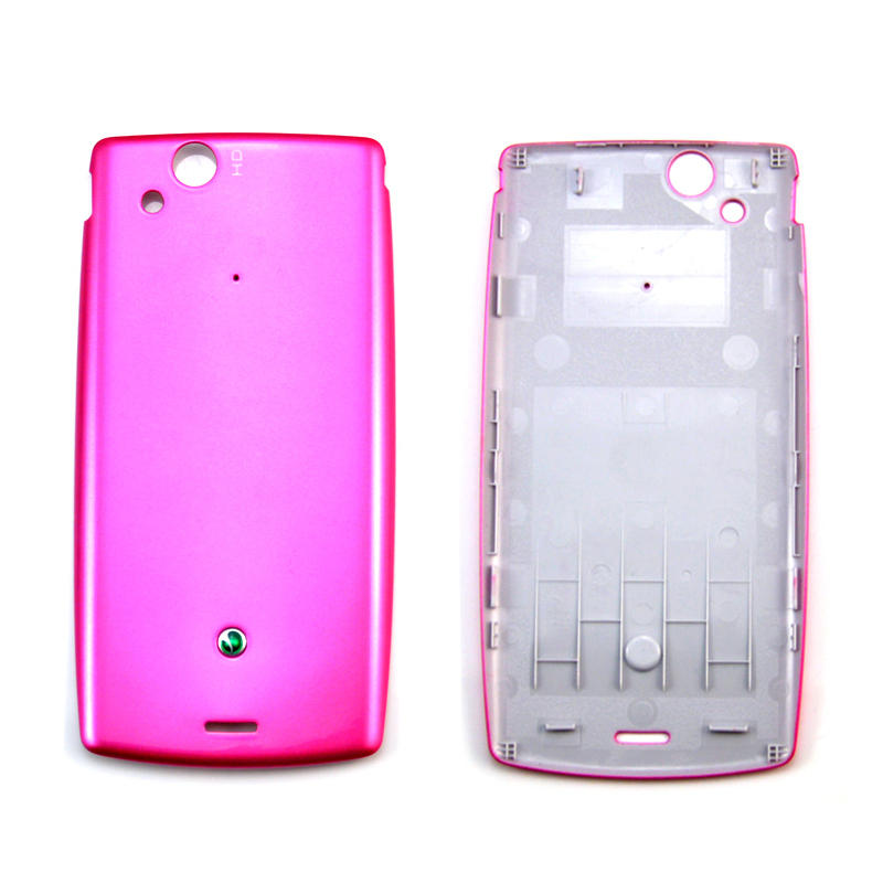 4 color Original Free shipping back battery Housing/case/cover door For Sony Ericsson Xperia Arc LT18 LT15 X12 LT15I LT18I(China (Mainland))