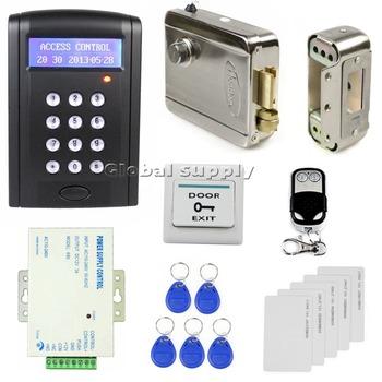 remote control rfid keypad door access control security system kit electron. Black Bedroom Furniture Sets. Home Design Ideas