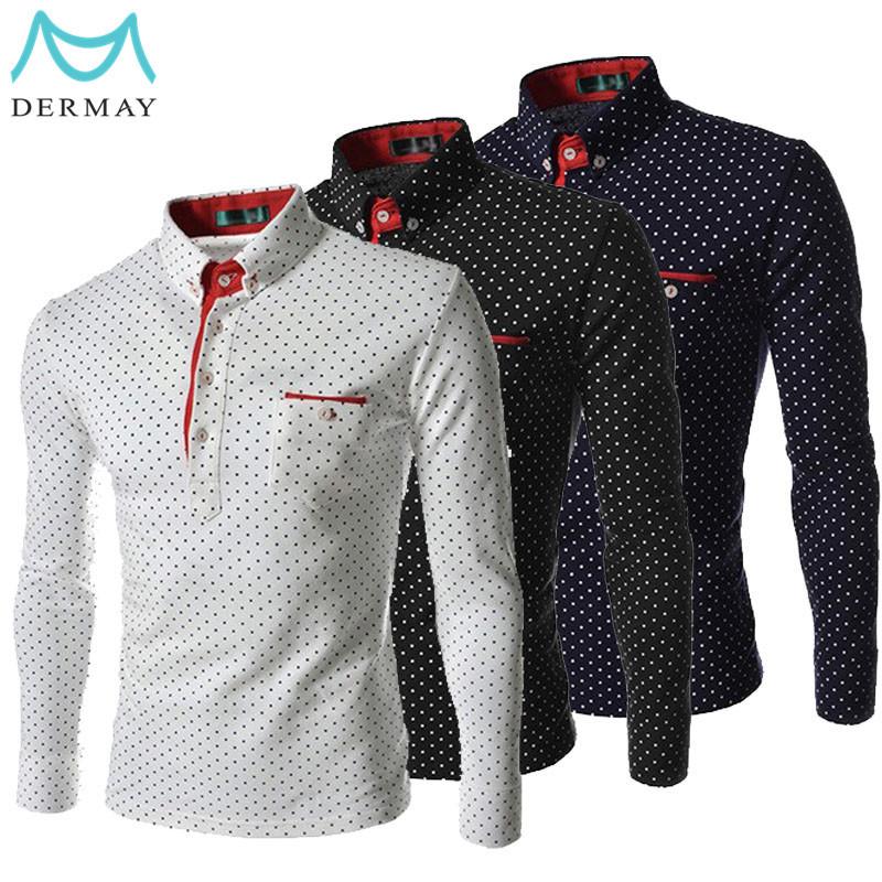 Мужская повседневная рубашка Dermay m/3xl Slim Fit Camisa Masculina DM04291735 мужская классическая рубашка dermay slim fit 4xl camisa masculina 6colors dm03241827
