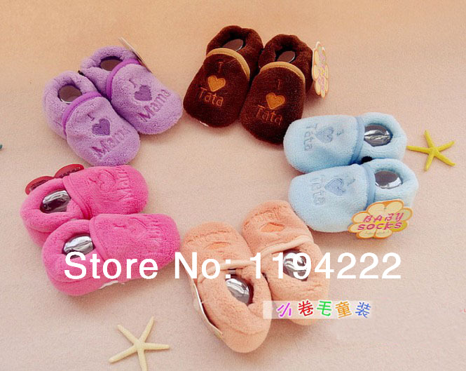Baby first walkers soft PVC dots sole toddler/infant/girls/boys shoes materials embroidery - Summer's Leisure Shop store